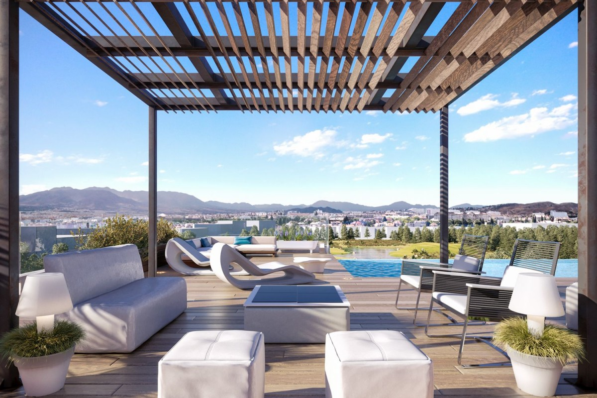 Penthouse for sale in Malaga