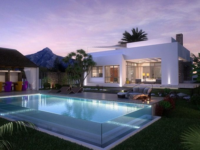 Exclusive contemporary villa for sale in the heart of Golf Valley