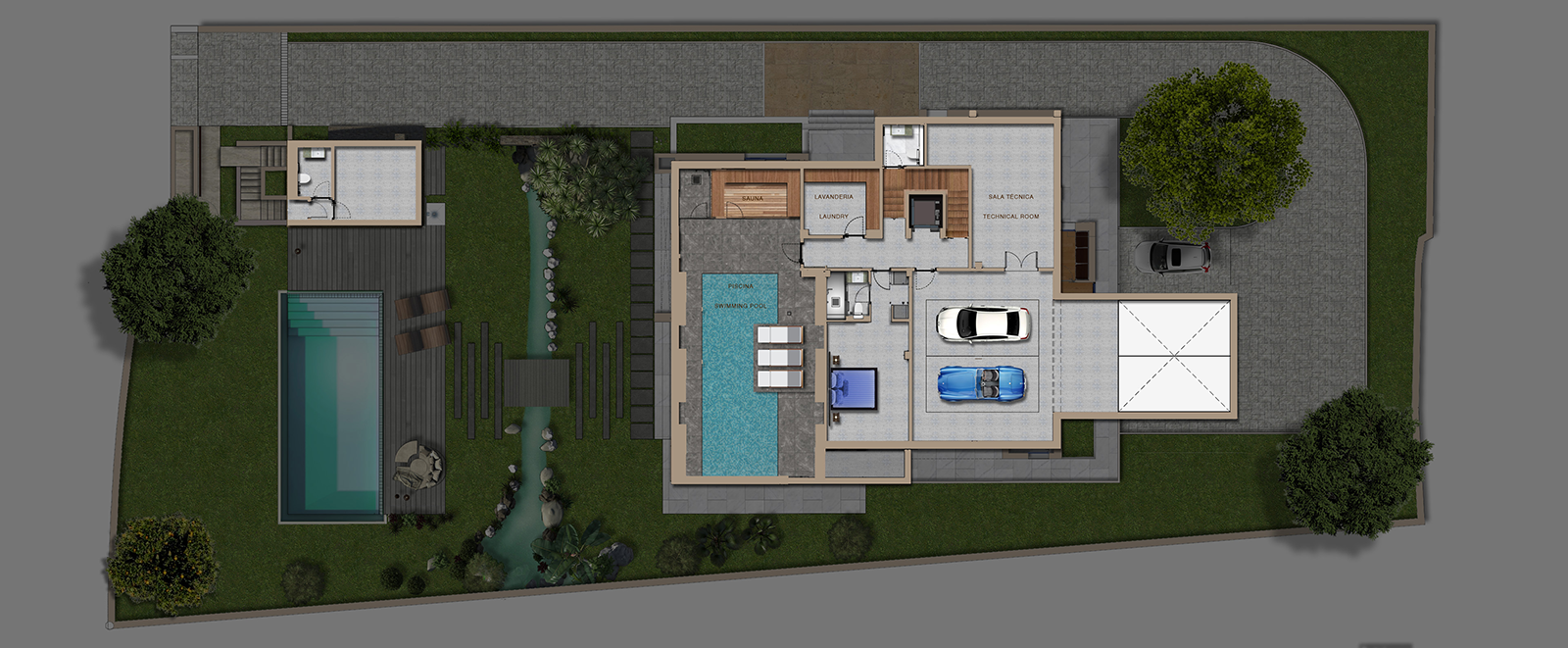 Basement / Pool