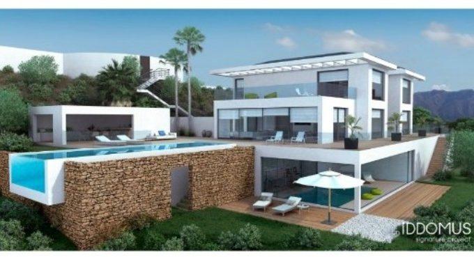 Signature villa with stunning sea views