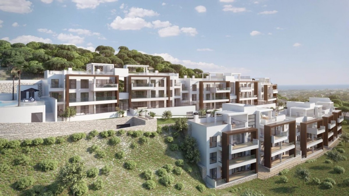 Stylish Complex 2 and 3 bed penthouse for sale in Benahavis