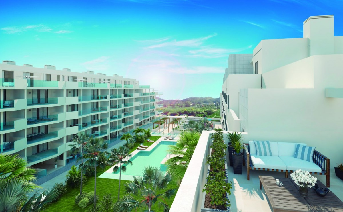 Contemporary 1, 2 & 3 bedroom apartments & penthouses for sale in Mijas