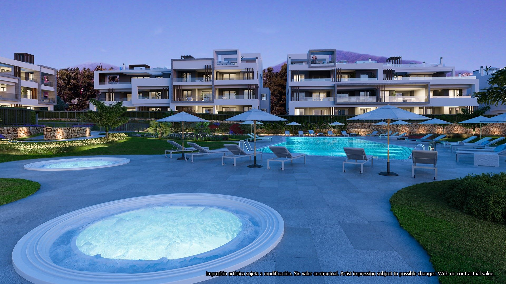 Stunning 3 bedroom apartments for sale in the New Golden Mile