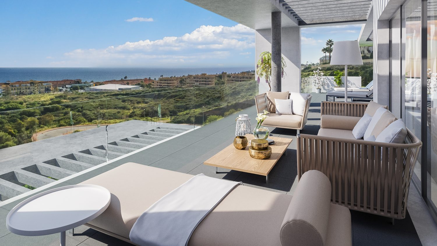 Luxurious apartments in the a residential complex situated in La Cala de Mijas
