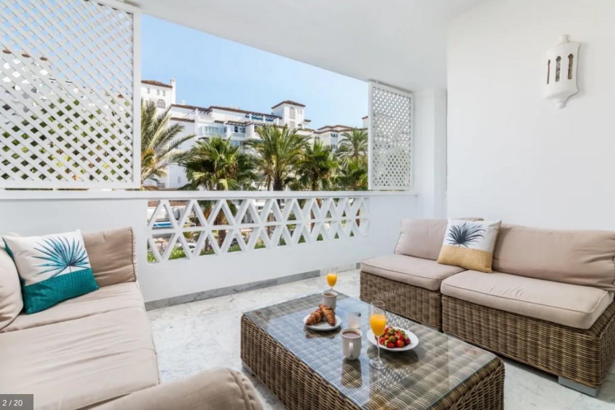 Modern, 2 bedroom Apartment, Las Gaviotas, Puerto Banus for holiday rental.
