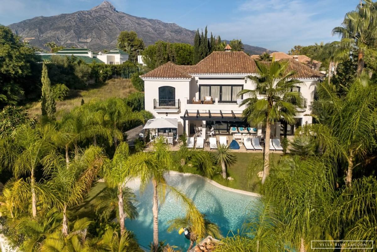 Exclusive stunning 7 bedroom Villa in Aloha, Nueva Andalucia