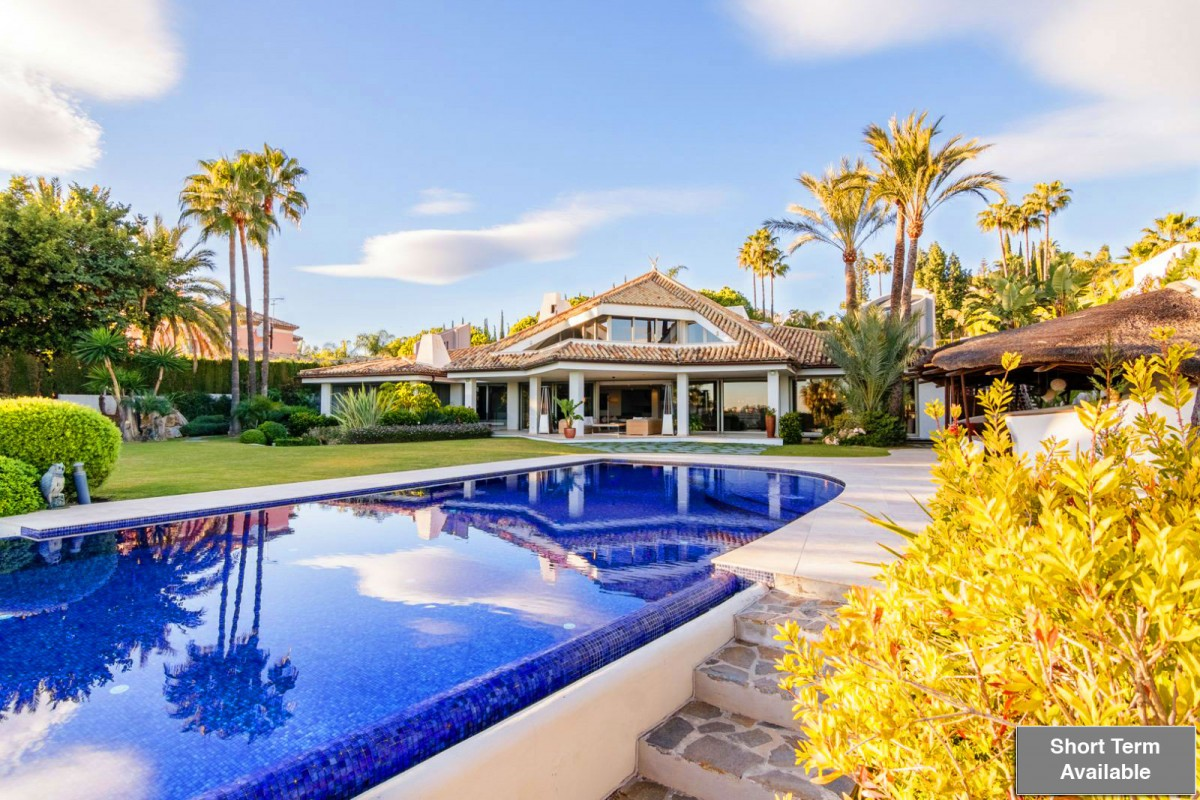 One of the most luxurious and finest villas Marbella has to offer!