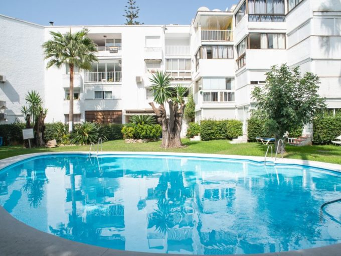 2 bedroom apartment in Marbella Center, two minutes walk to the beach