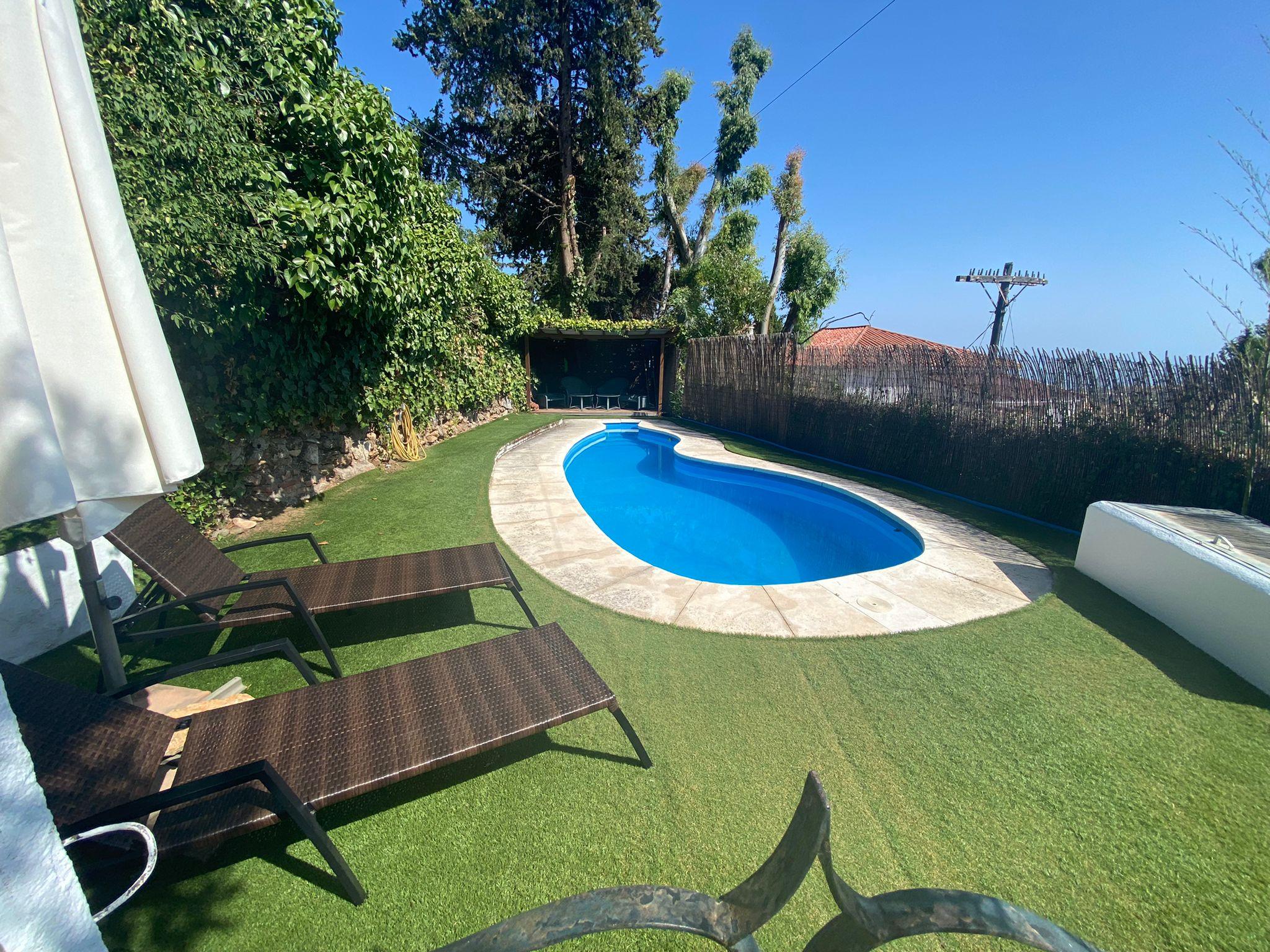 4 bedroom villa on the hills above Marbella, stunning sea views